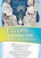 8 dicembre| Giornata pro-Seminario